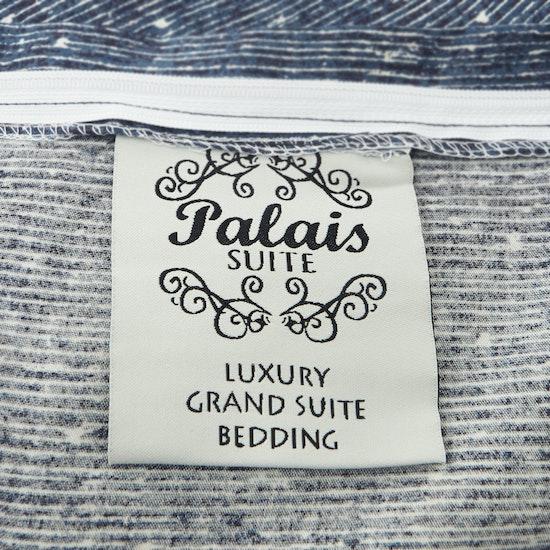 Bedding Affairs - (Queen) Palais Suite Tencel 6-Pc Bedding Set - Kyanite Blue
