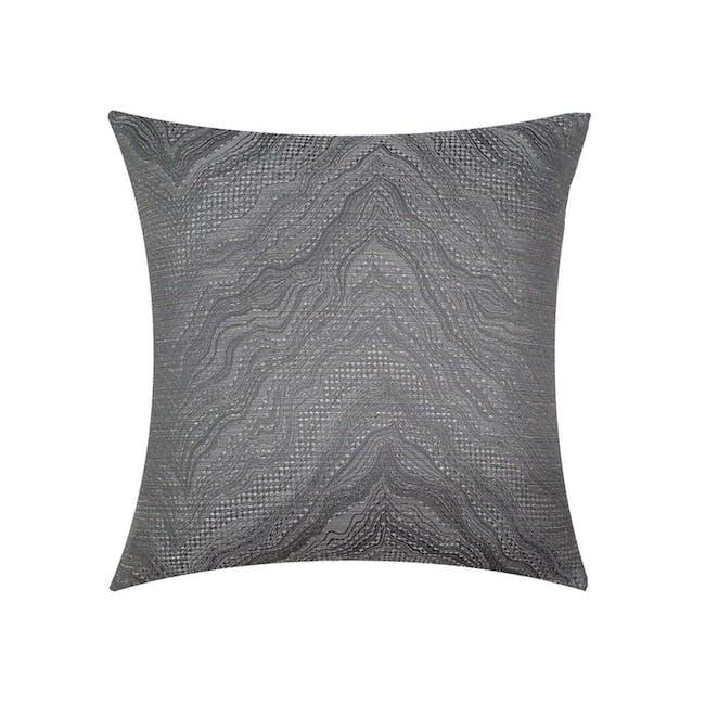Greek Cushion Cover - Silver - 0
