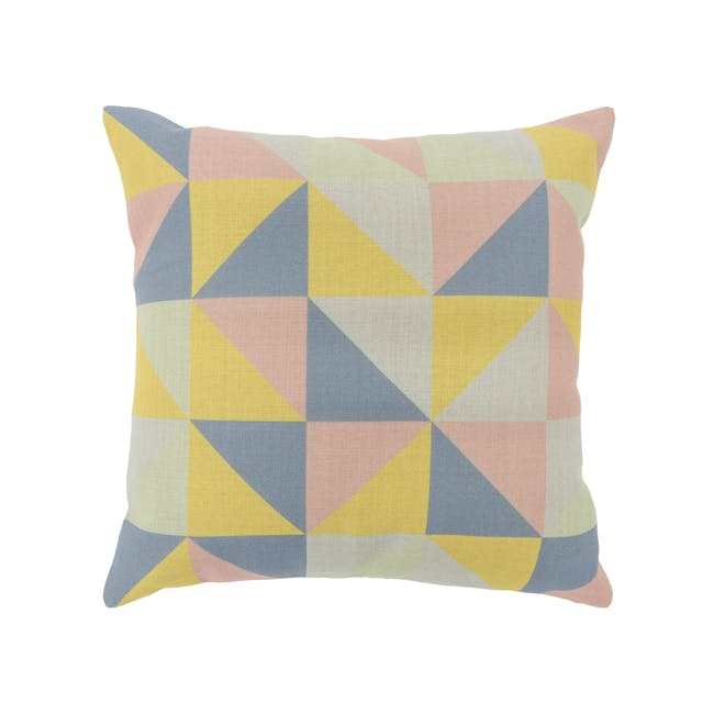 Trippy Cushion Cover - Pastel - 0