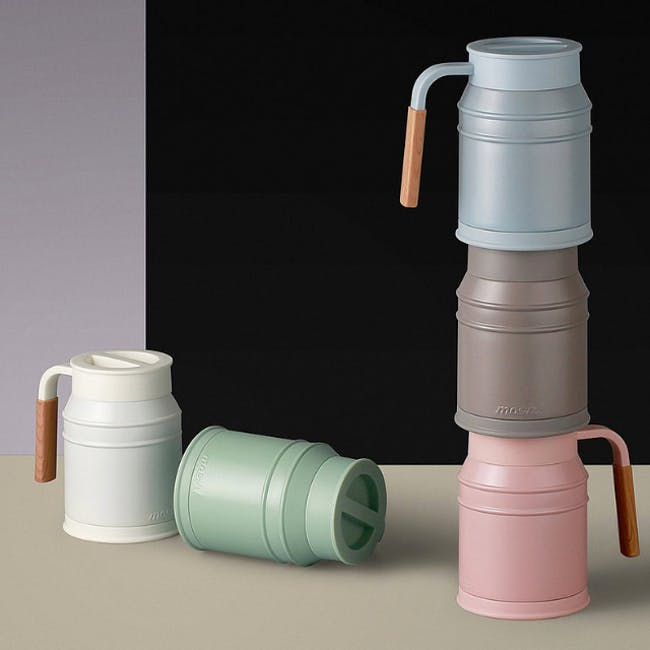 MOSH! Mug cup 400ml -  Pink - 2