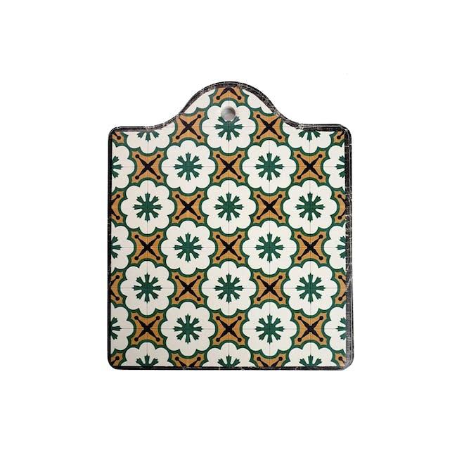 Peranakan Ceramic Pot Coaster - Rue - 0