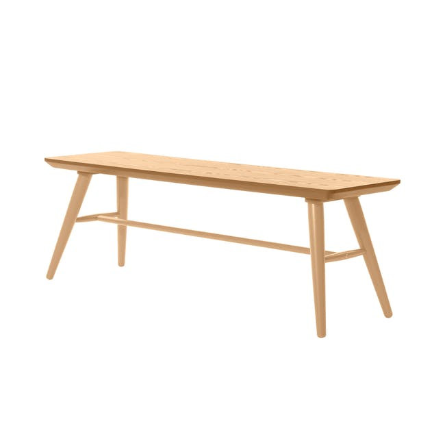 (As-is) Marrim Bench 1.2m - Natural - 9 - 0