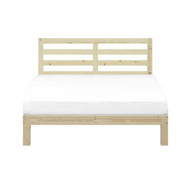 Katana Queen Headboard Bed - 0