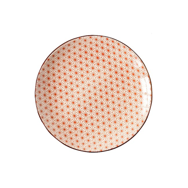 Table Matters Starry Red Plate (3 Sizes) - 0