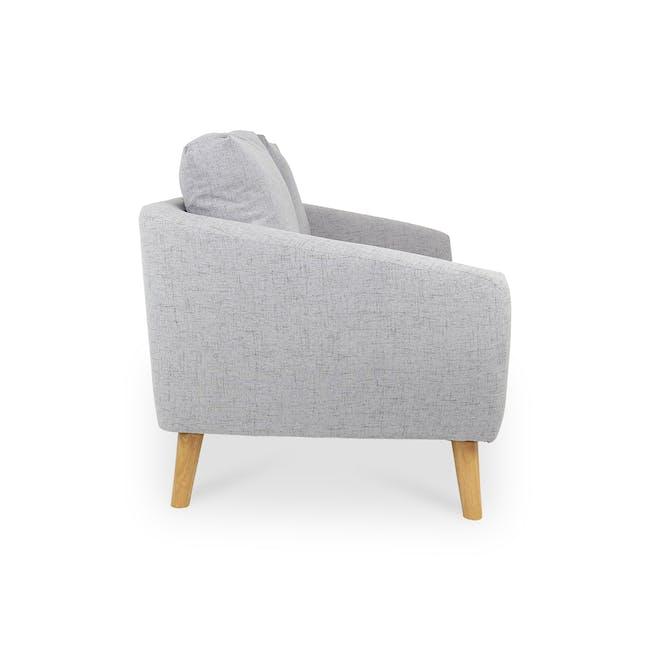 Hana2 Seater Sofa - Light Grey - 4