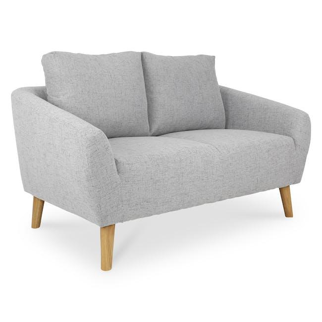 Hana2 Seater Sofa - Light Grey - 3