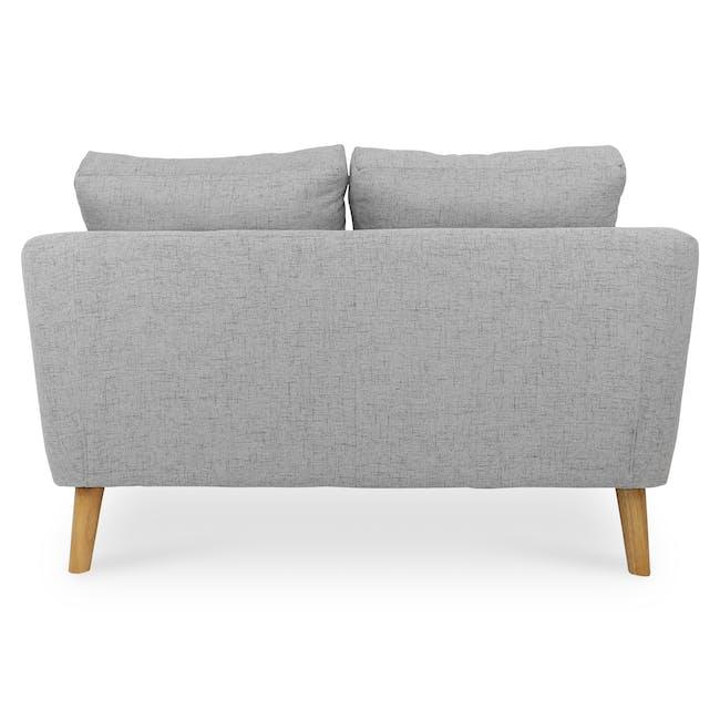 Hana2 Seater Sofa - Light Grey - 5