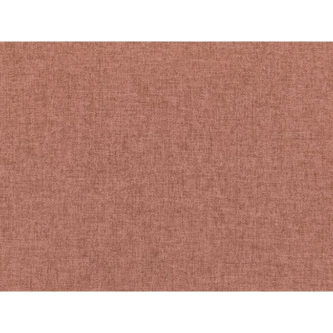 Audrey 3 Seater Sofa with Audrey Armchair - Blush - 6