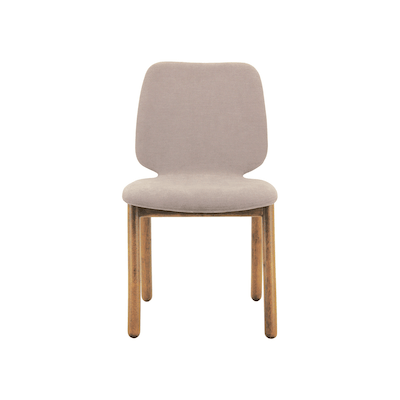 Missie Dining Chair - Cocoa, Light Grey