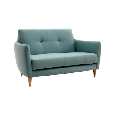 Elise 2 Seater Sofa - Jade - Image 2