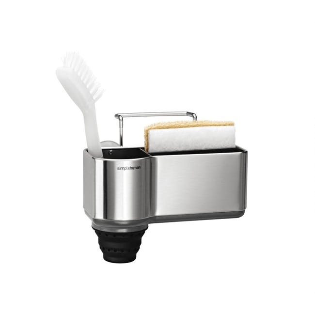 simplehuman pop-Out Silicone Brush Holder - 0