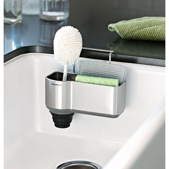 simplehuman pop-Out Silicone Brush Holder - 2