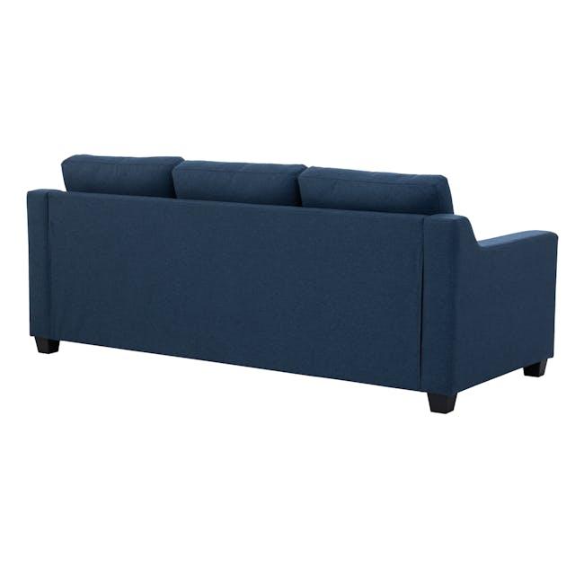 Baleno 3 Seater Sofa - Yale Blue (Fabric) - 3