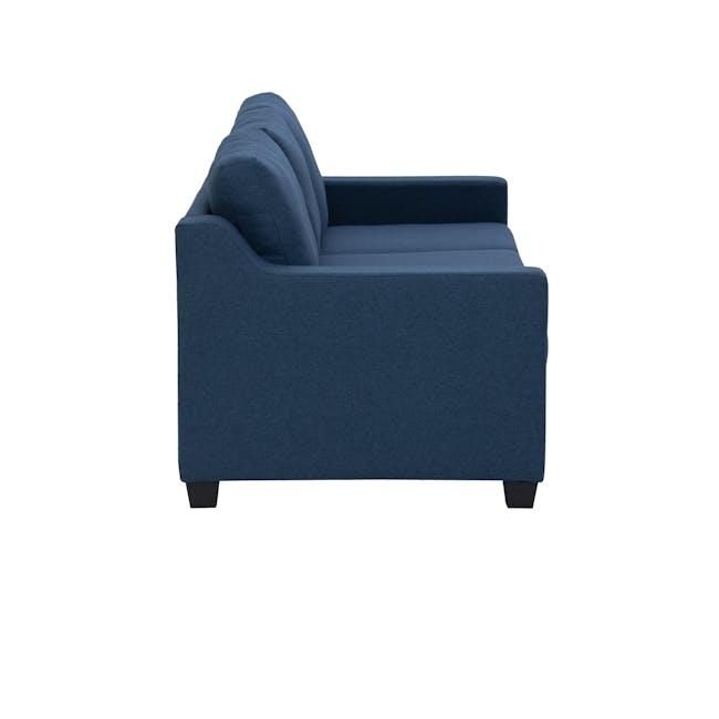 Baleno 3 Seater Sofa - Yale Blue (Fabric) - 2