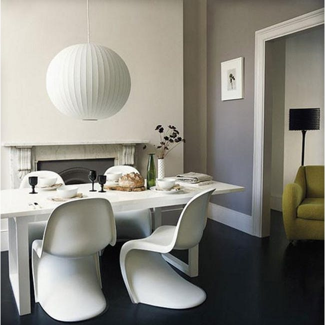Panton Chair Replica - White - 7