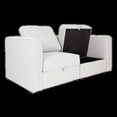 Rita 2 Seater Storage Sofa