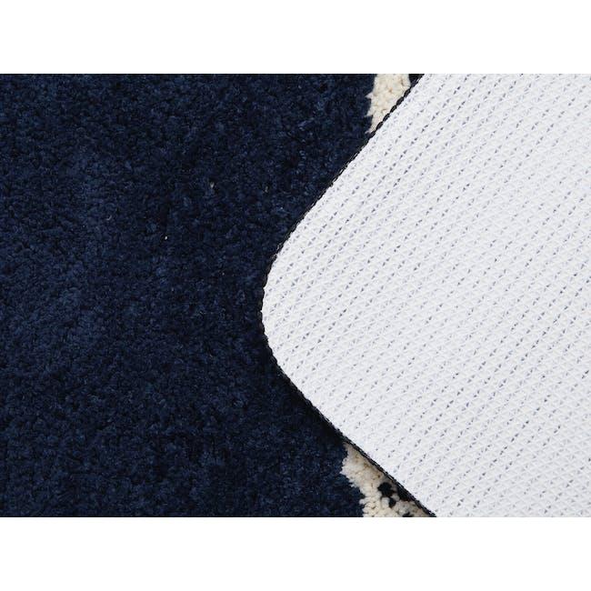 Scandi Dots Floor Mat - Navy Blue - 2