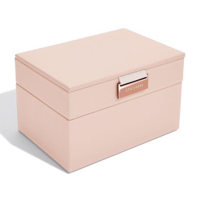 Stackers 2-in-1 Mini Jewellery Box - Blush - 3