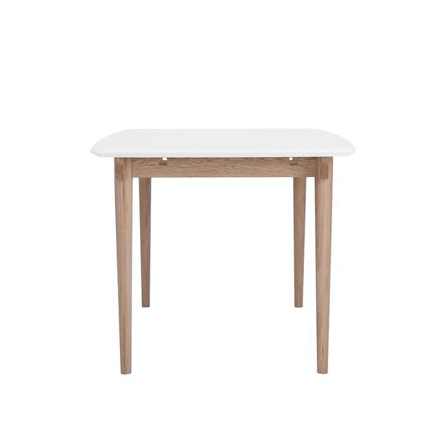 Larisa Dining Table 1.6m - White, Oak - 3