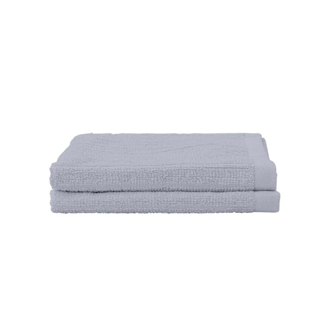 EVERYDAY Face Towel - Lilac (Set of 2) - 0