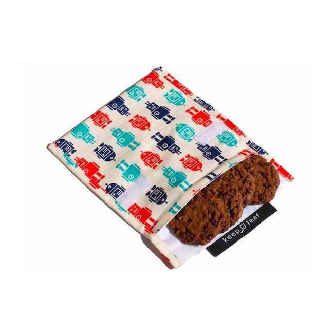 Reusable Snack Bag - Robot (Size L) - 1