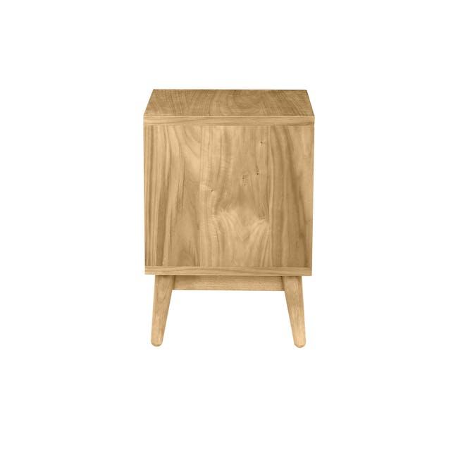 Kyoto Bottom Drawer Bedside Table - Oak - 3
