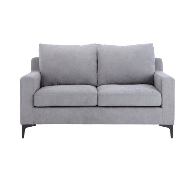 Viva 2 Seater Sofa - Light Grey - 0