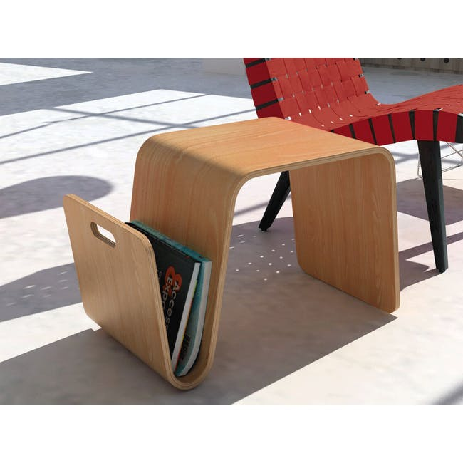 Eric Pfeiffer Offi Mag Table Replica - Oak - 2