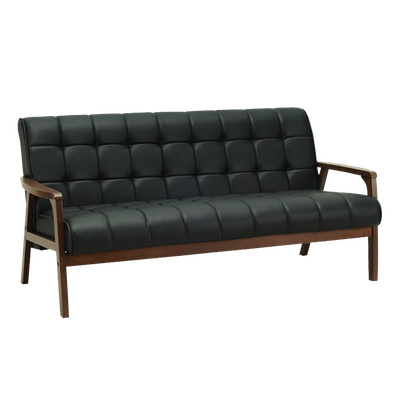 (As-is) Tucson 3 Seater Sofa - Cocoa, Espresso - 5 - Image 1