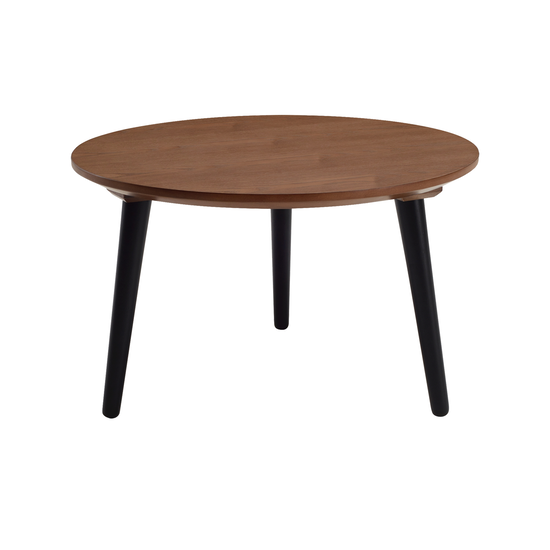 Malmo - Carsyn Round Coffee Table - Cocoa