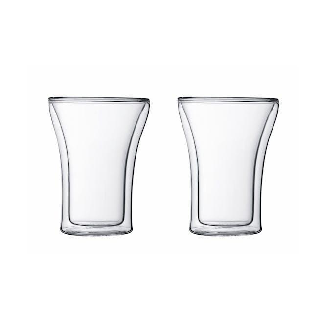 ASSAM Double Wall Glass 0.25L (Set of 2) - 2