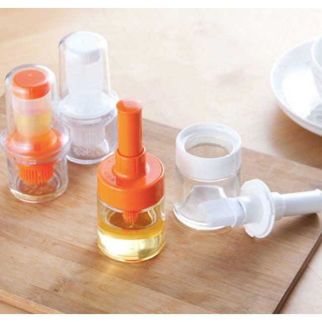 Asvel Forma Push Oil Brush - Orange - 3