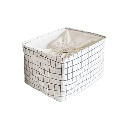 Beverley Drawstring Laundry Basket - Image 1