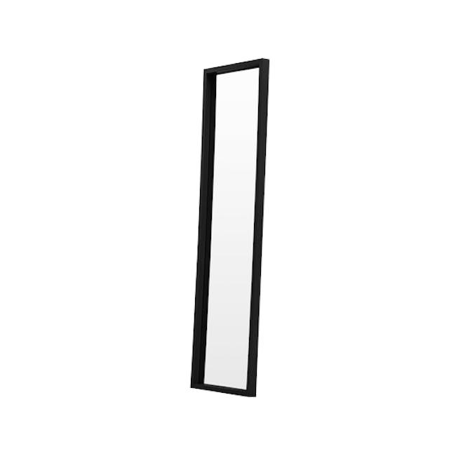 Nelson Full-Length Mirror 40 x 140 cm - Black - 1