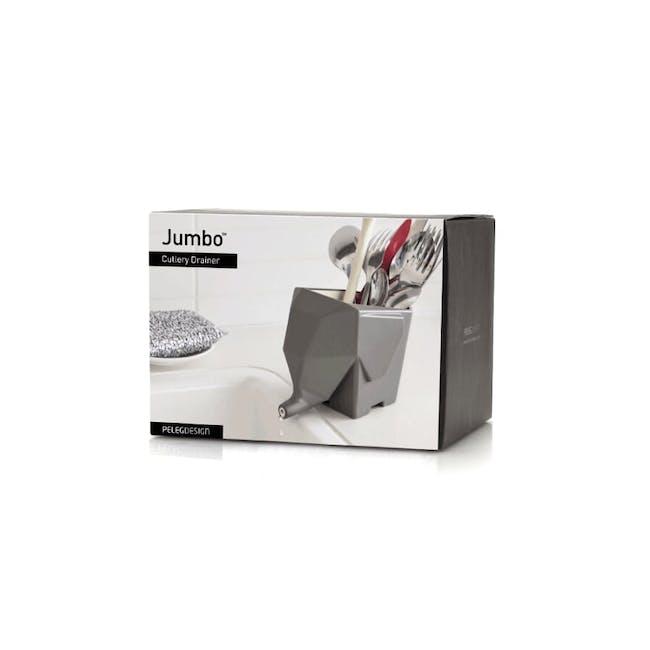 PELEG DESIGN Jumbo Cutlery Drainer - Cream - 3