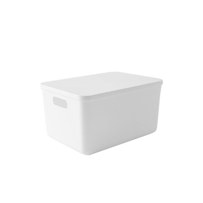 Lussa Storage Box with Lid - Medium - 0
