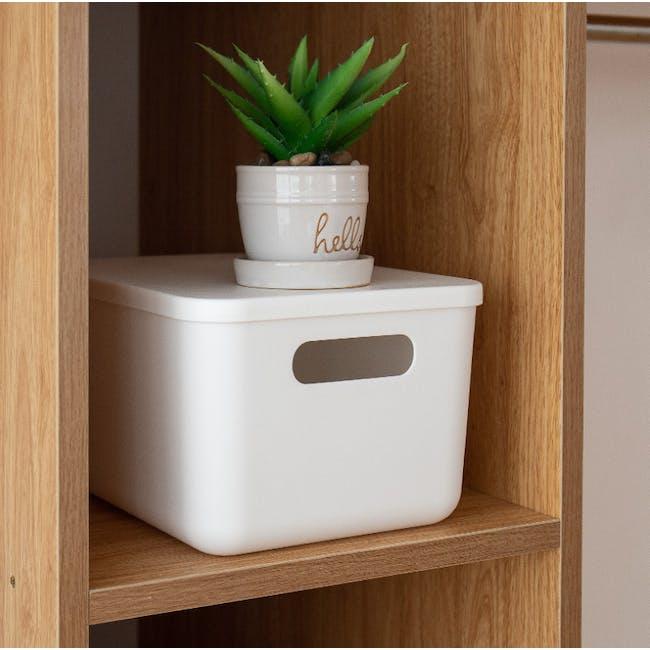 Lussa Storage Box with Lid - Medium - 2