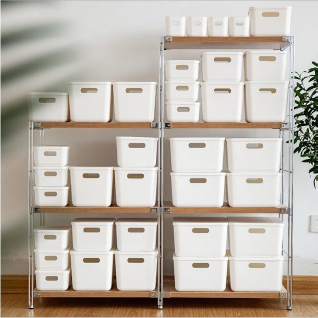 Lussa Storage Box with Lid - Medium - 3