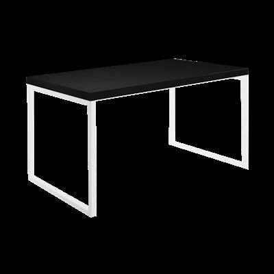 Brent Dining Table 1.2m - Black, White - Image 2