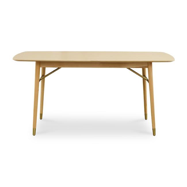 Hagen Dining Table 1.6m - Oak - 0