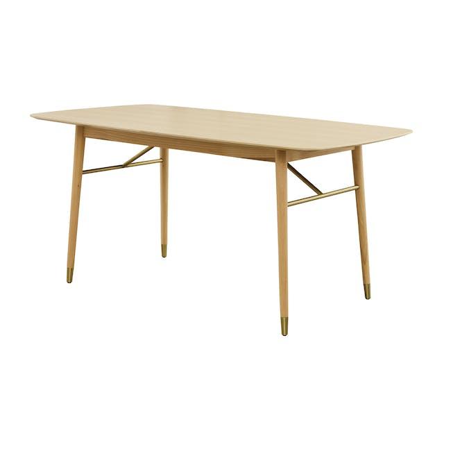 Hagen Dining Table 1.6m - Oak - 1
