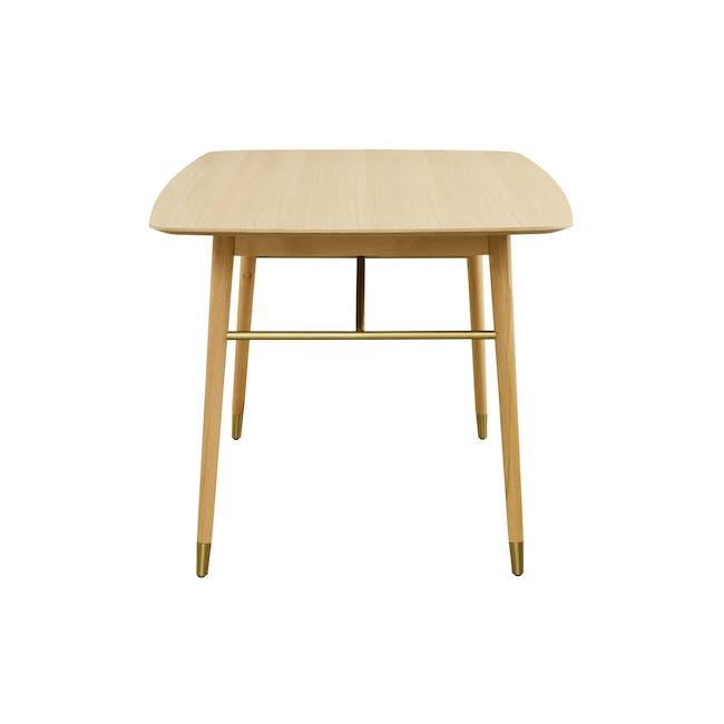 Hagen Dining Table 1.6m - Oak - 2