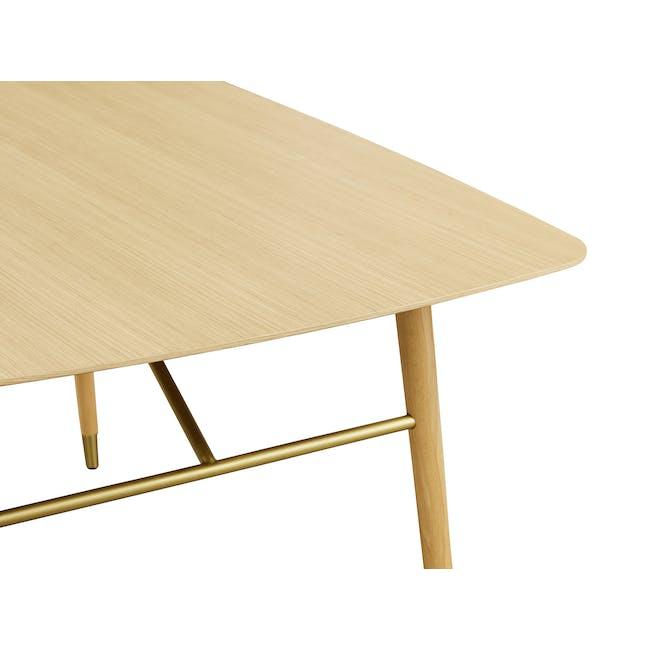 Hagen Dining Table 1.6m - Oak - 3