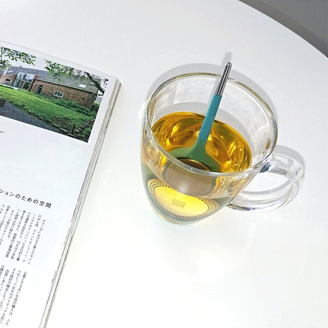OMMO Koma Tea Infuser - Eggplant - 2