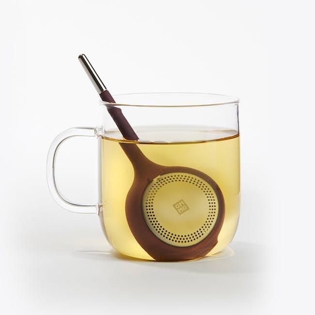 OMMO Koma Tea Infuser - Eggplant - 3