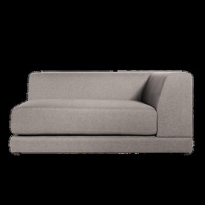 Abby Right Arm Chaise Sofa - Sand - Image 1