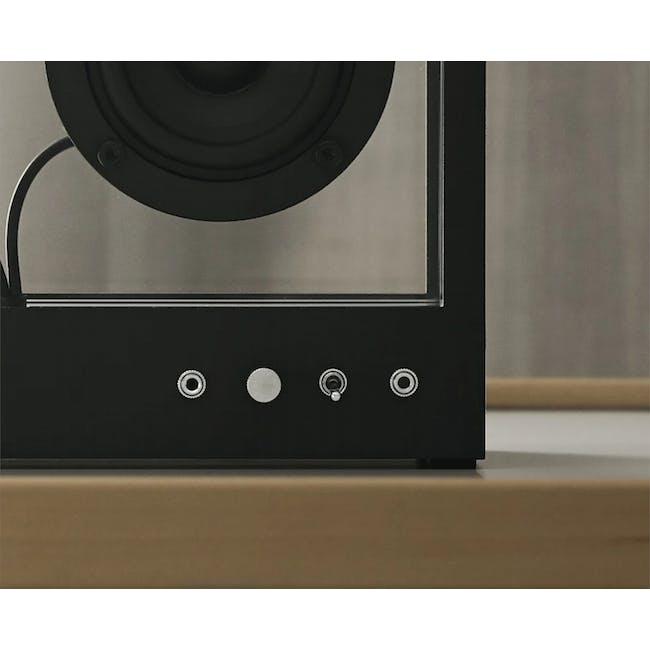 Small Transparent Speaker - Black - 2