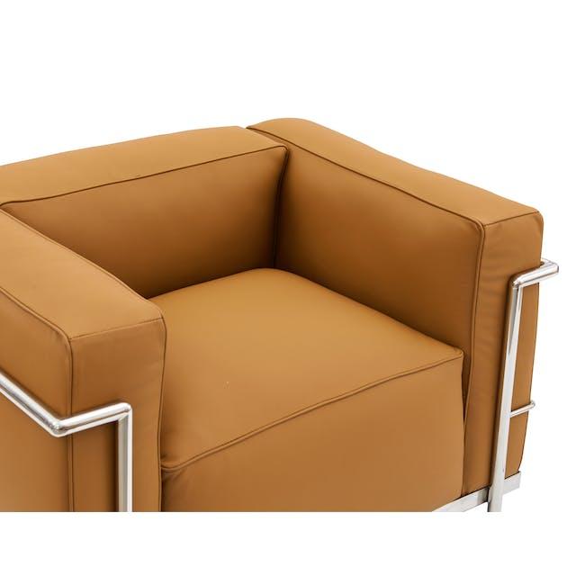 LC3 Armchair Replica - Tan (Genuine Cowhide) - 4