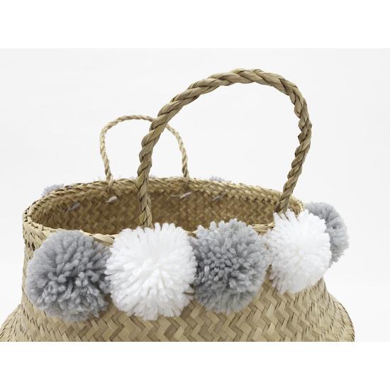 Stitches and Tweed - Peare Pom Pom Basket