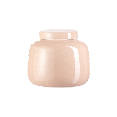 Nora Jar with Lid - Peach - Image 2